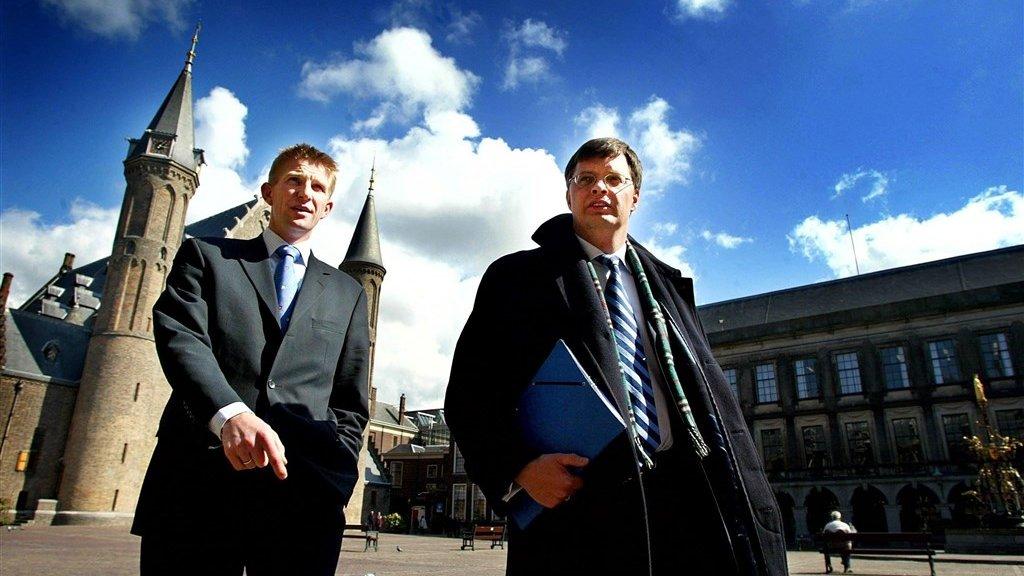 Jack de Vries en Jan-Peter Balkenende.