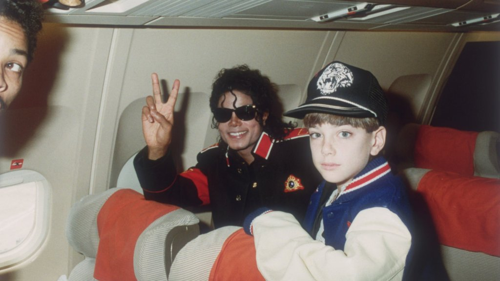 Michael Jackson en James Safechuck.