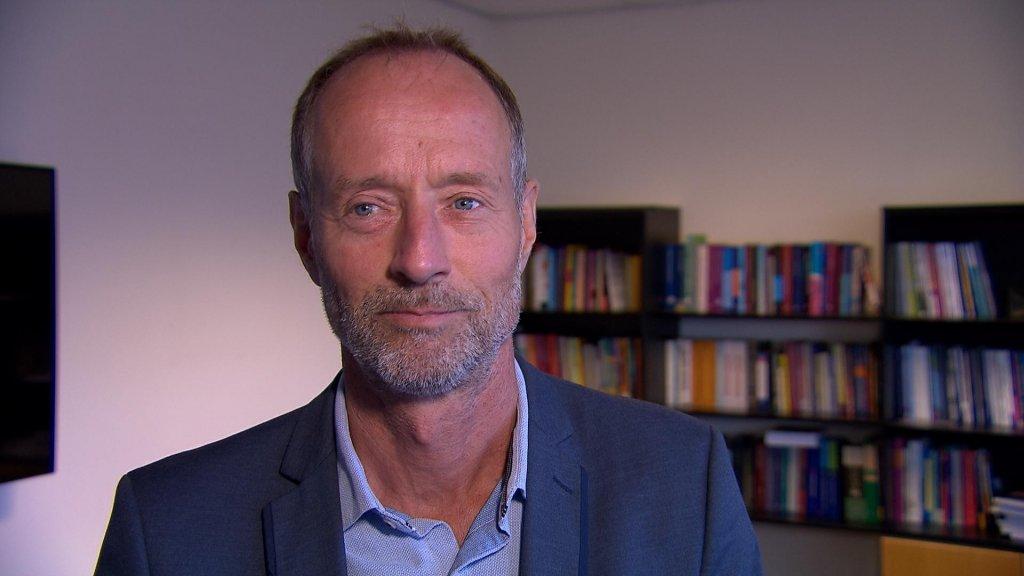 Robert Schoevers, hoofd psychiatrie bij het UMCG.