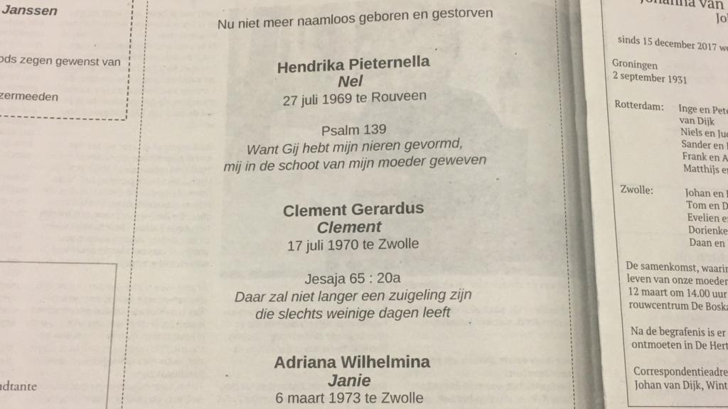 Gerard Kreeg 50 Jaar Geleden 3 Doodgeboren Babys Nu
