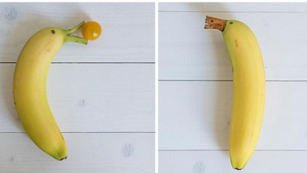 Een banaan pimpen.