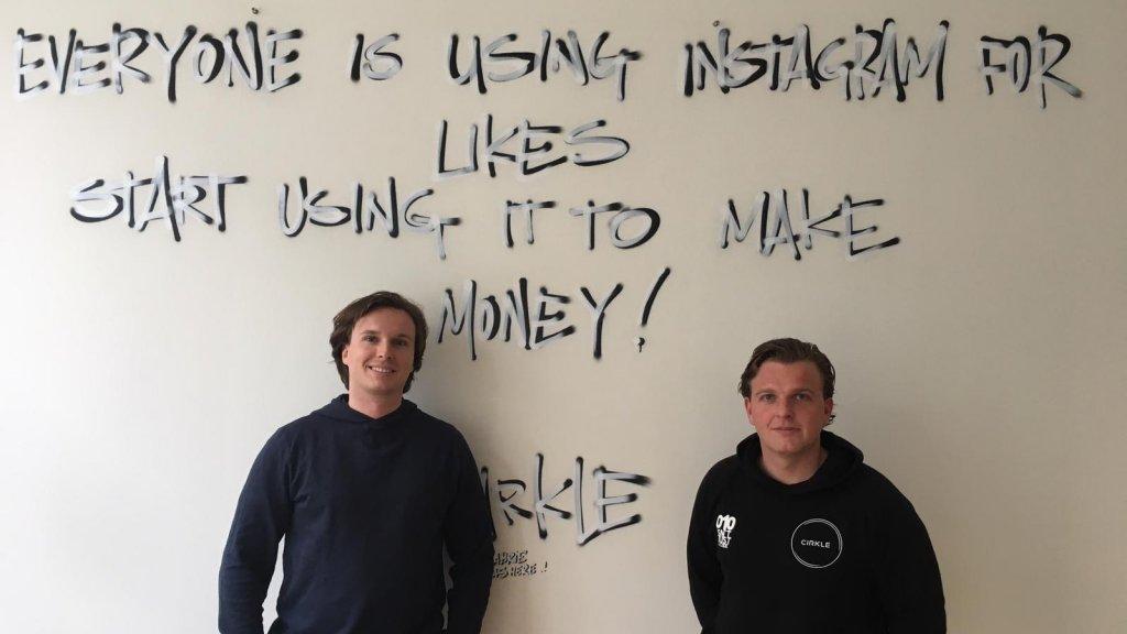 Mick Vierdag en Don Perridon, de oprichters van Cirkle.