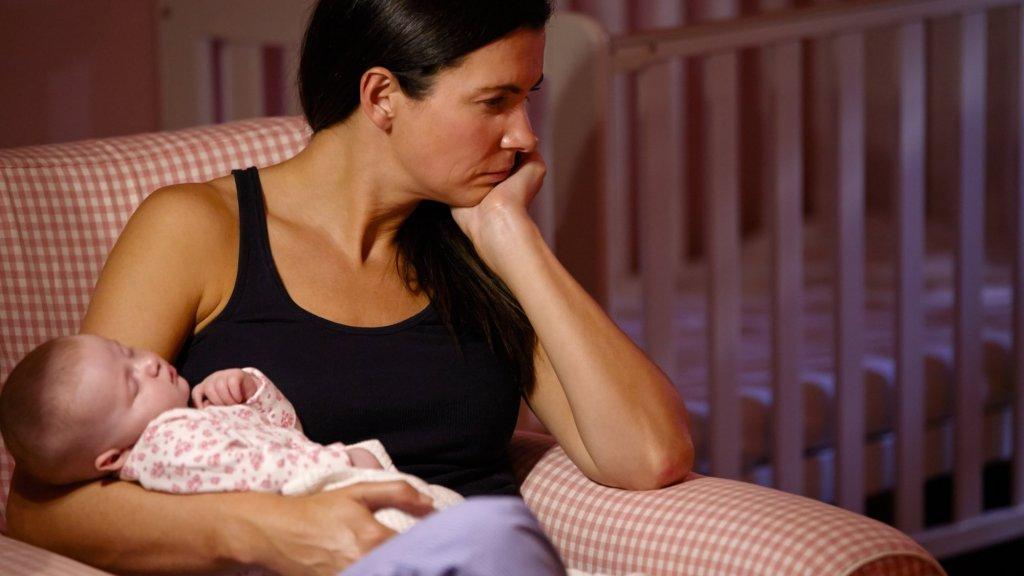 Beeld ter illustratie. Ieder jaar krijgen 23.000 Nederlandse moeders last van depressie na de geboorte van hun kind.