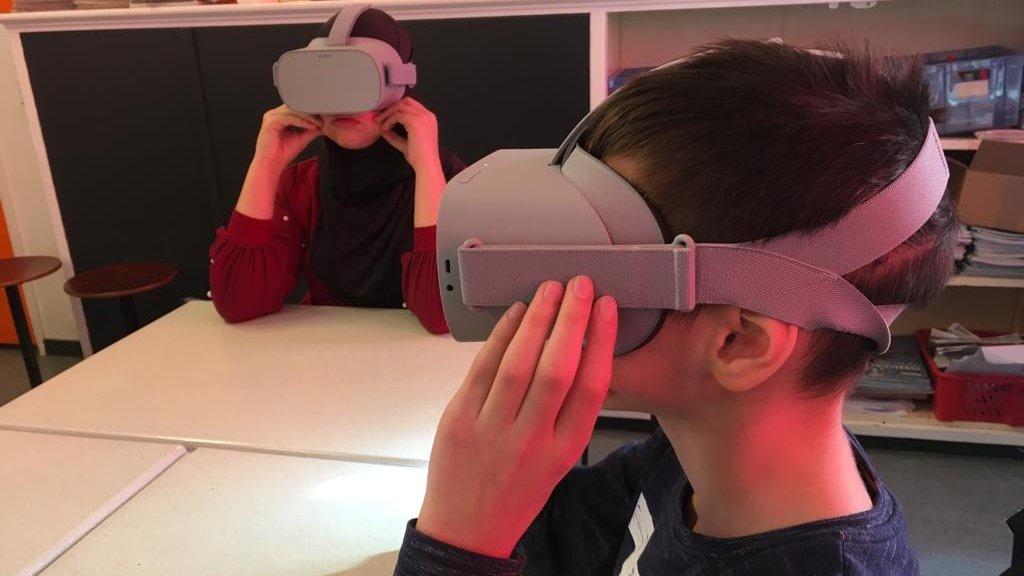 Leerlingen van basisschool Jan Campert krijgen anti-cyberpestles
