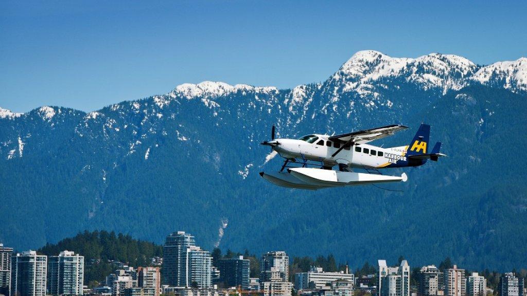 Een vliegtuig van Harbour Air.