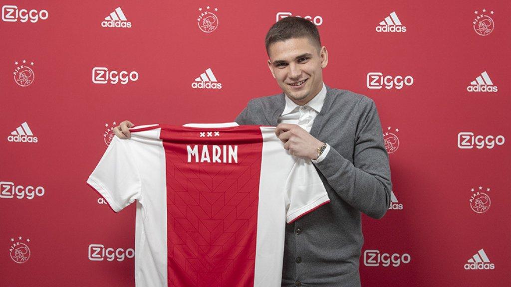 Răzvan Marin speelt aankomend seizoen in het shirt van Ajax
