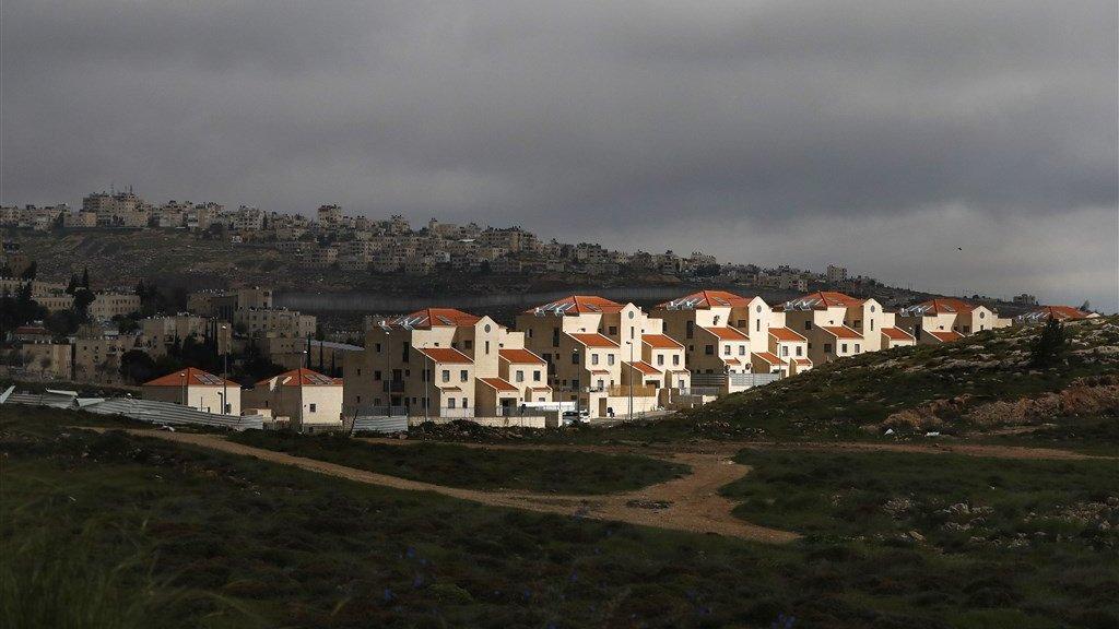 De Joodse nederzetting Neve Yaakov.
