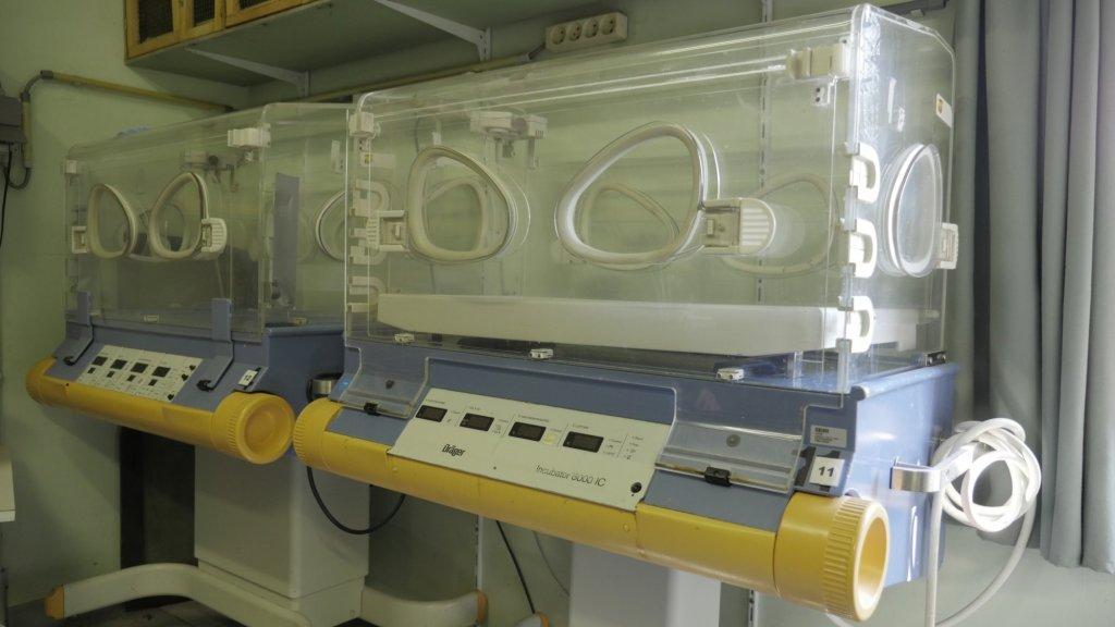 De couveuses stonden eerst in het ziekenhuis in Gent.