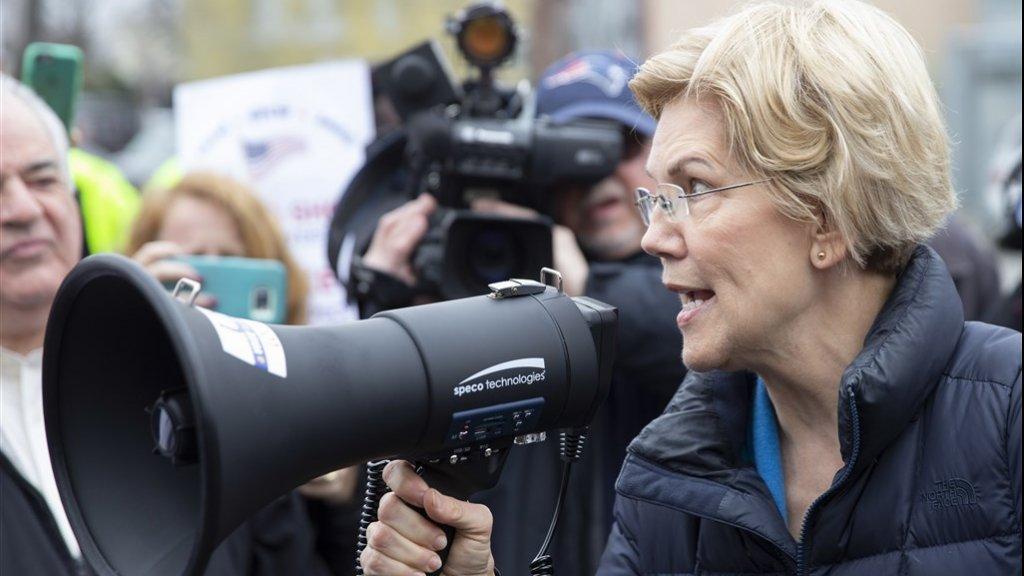Buttigieg staat in de peilingen voor op Elizabeth Warren.