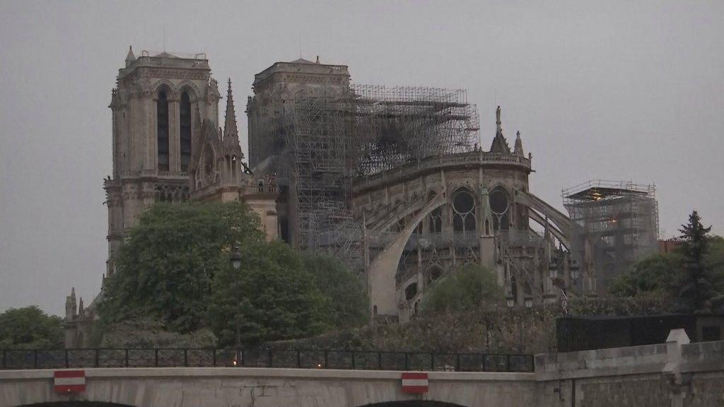 Zo ziet de Notre-Dame er nu uit