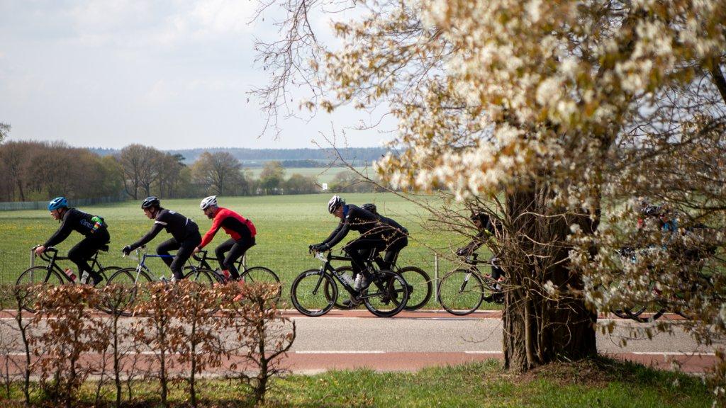 Deelnemers aan de Ronde van Arnhem.