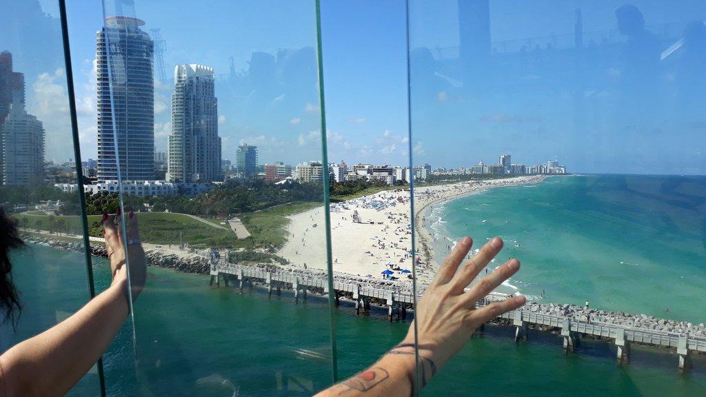 Zwaaien naar Miami