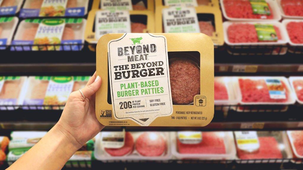 Albert Heijn gaat The Beyond Burger verkopen.