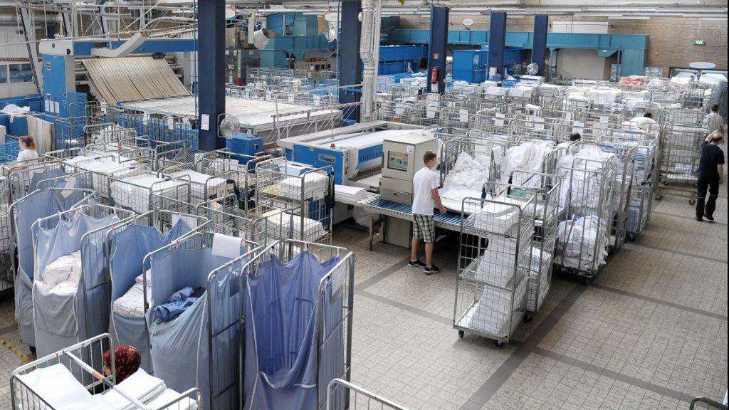 praca w pralnii