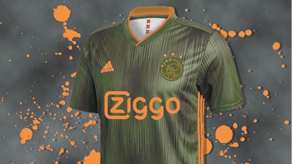 Mogelijk het uitshirt voor Ajax voor het seizoen 2019/2020.