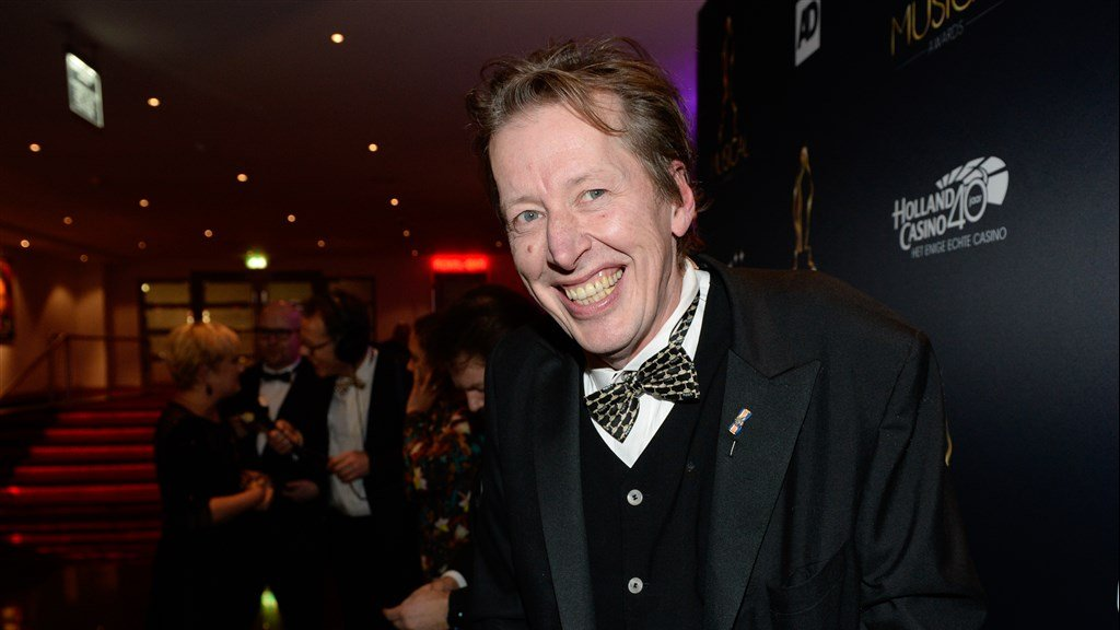 Jan Rot tijdens de Musical Awards in 2017.
