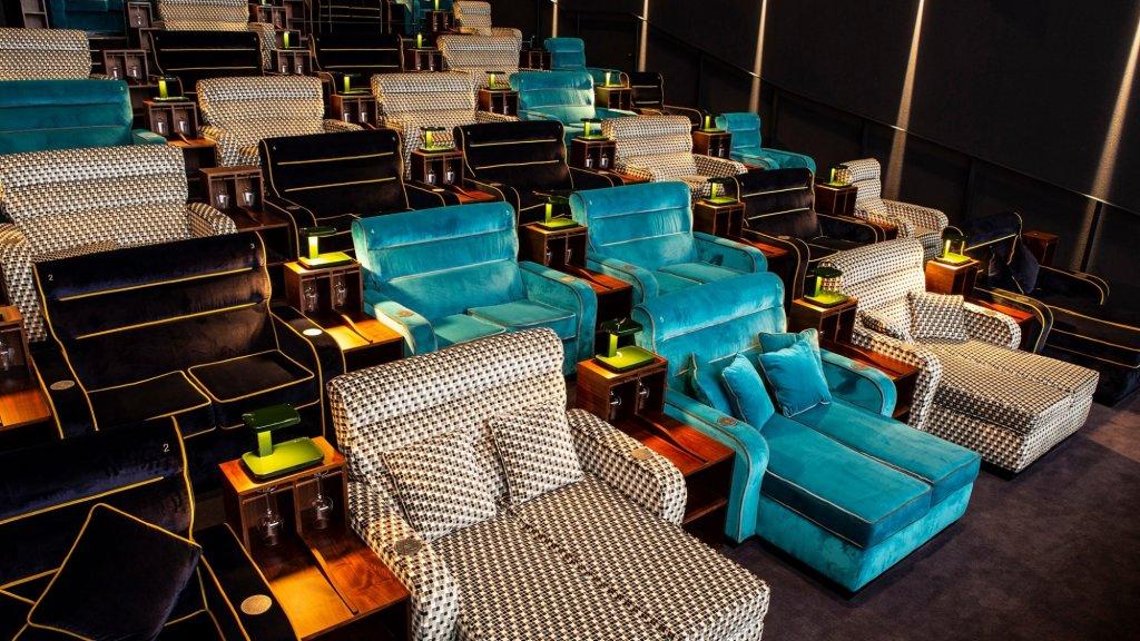 De VIP-lounge van Pathé Spreitenbach