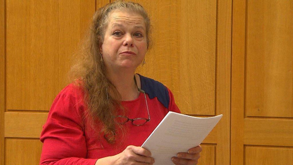 De moeder van Janneke sprak emotionele woorden tijdens een eerdere zitting.