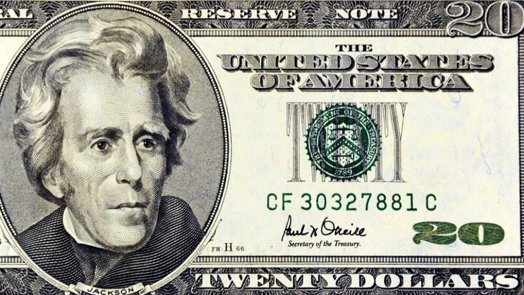 Ex-president Andrew Jackson verhuist mogelijk naar de achterkant van het biljet.