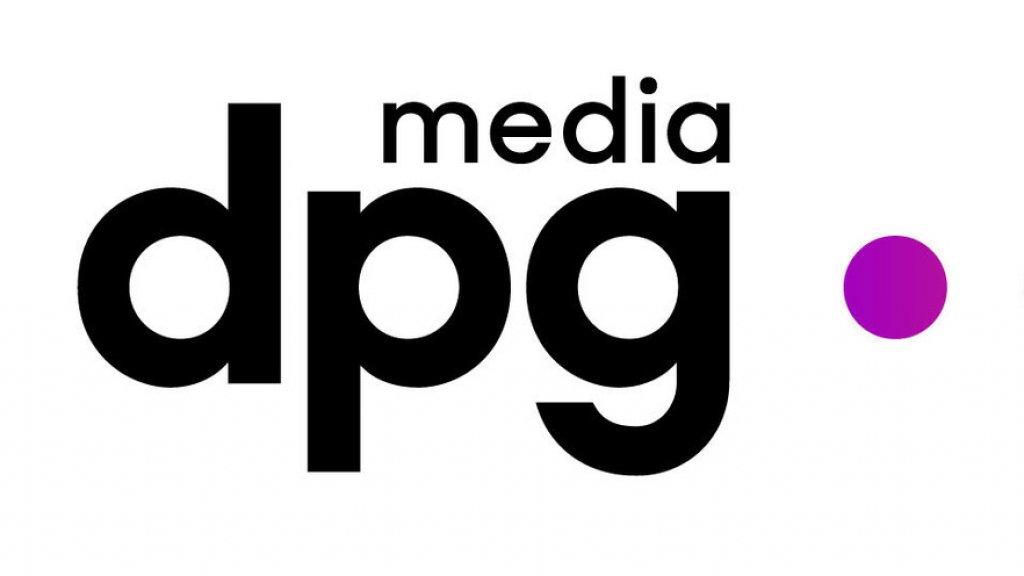 Het nieuwe logo van De Persgroep-Medialaan