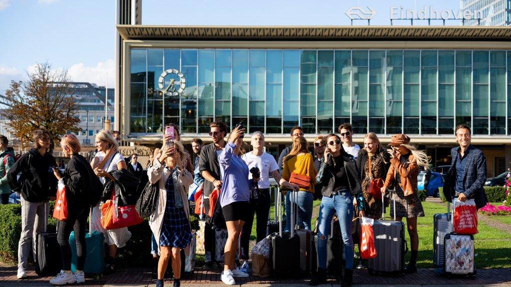 Millenials bezoeken Eindhoven