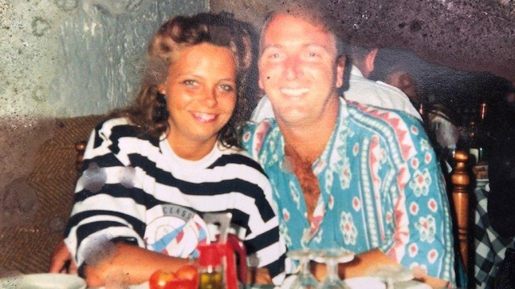 Hank met zijn huidige vrouw Claudia.