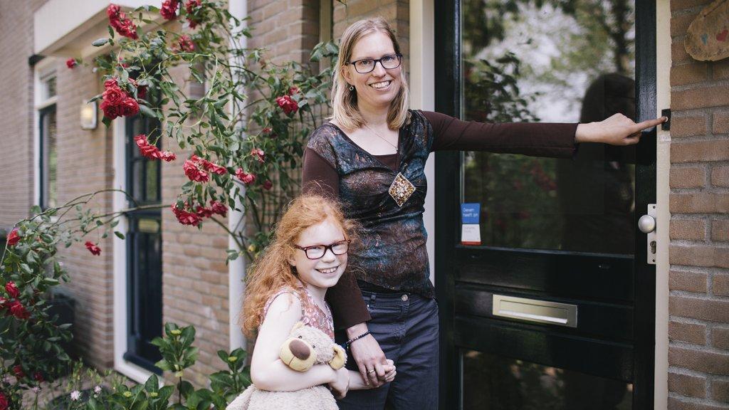 Suzanne Spoelman met dochter Eline