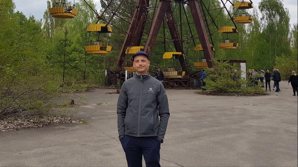 Bob in Tsjernobyl.