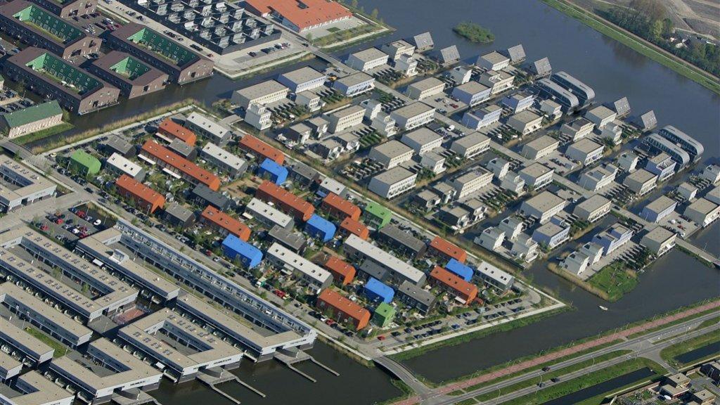 De Vinex-wijk Ypenburg bij Den Haag.