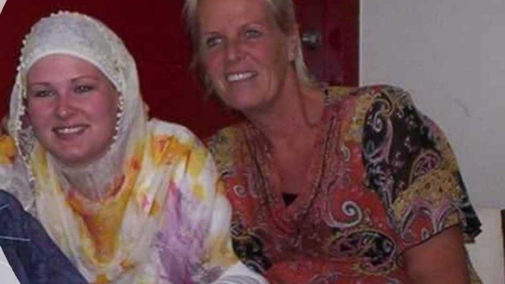 Maya en haar dochter Mandy.
