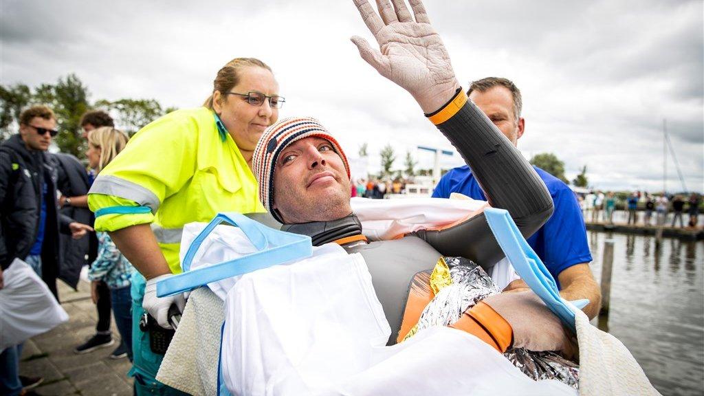 Vorig jaar moest Van der Weijden na 163 kilometer opgeven in Birdaard.