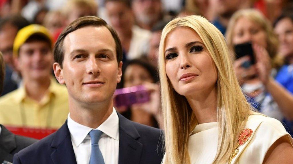 Jared Kushner en zijn vrouw Ivanka Trump