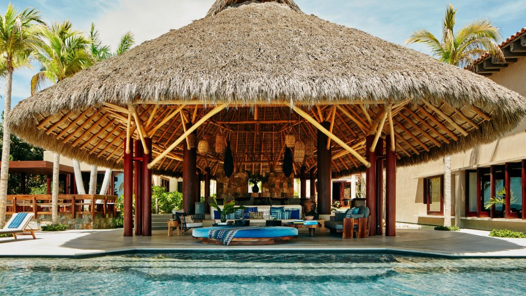 Een Airbnb Luxe-pand in Mexico.