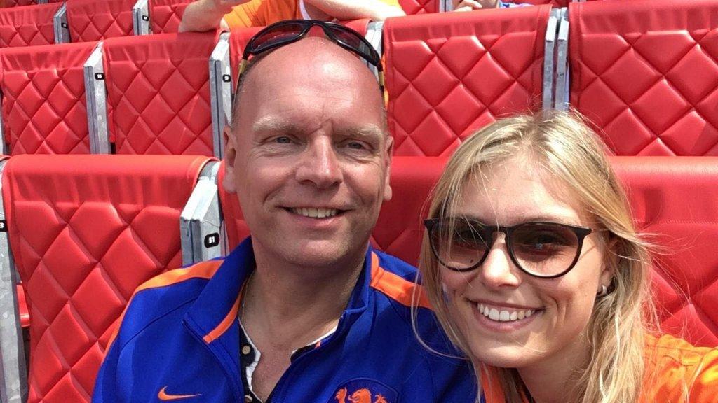 Erik zat eerder wél in het stadion van Valenciennes, samen met z'n dochter.