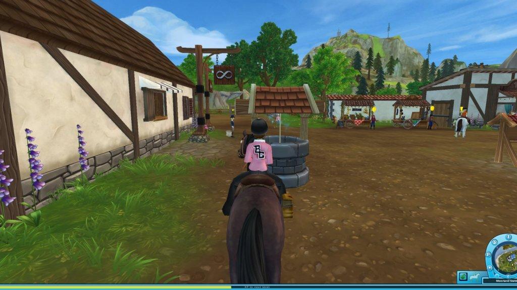 Een screenshot van Star Stable.