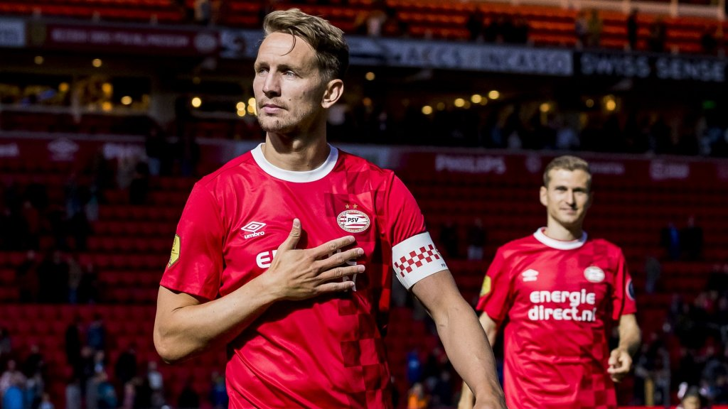 De laatste foto van Luuk de Jong in het shirt van PSV