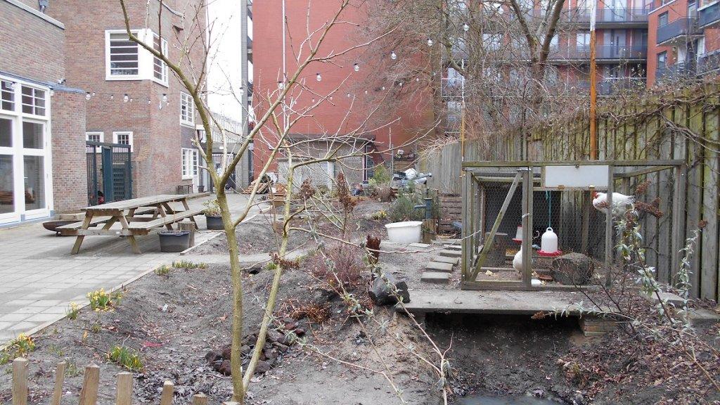Een tuin die goed bestand is tegen extreem weer.
