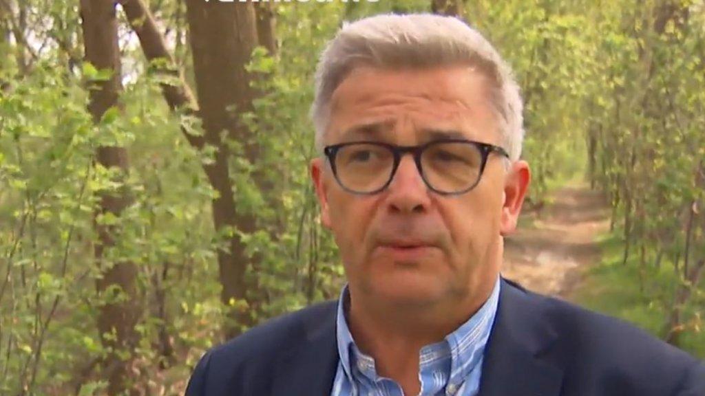 Parlementsvoorzitter Kris Van Dijck.