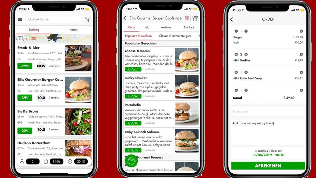 De Restoranto app.