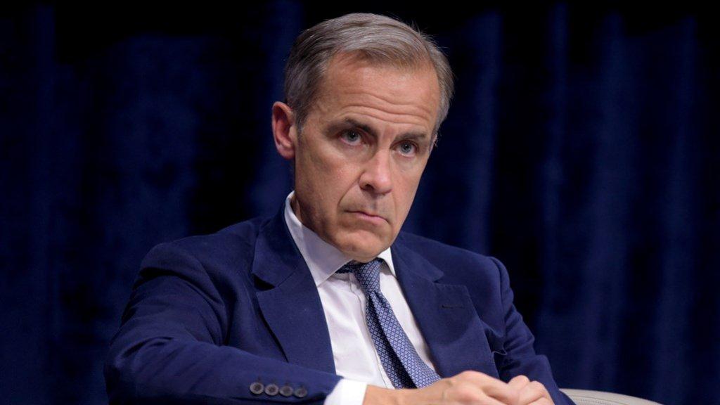 Mark Carney, directeur van de Bank of England, is een van de grootste concurrent van Dijsselbloem.