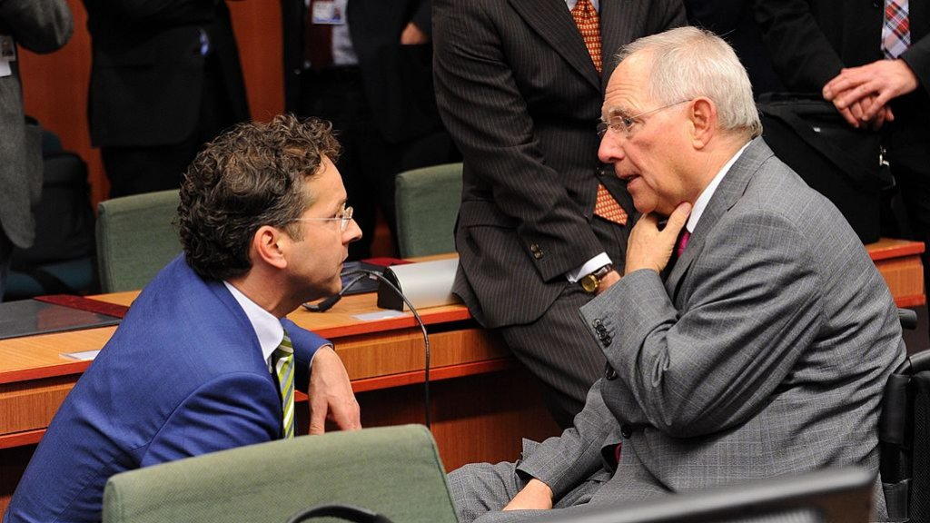 Dijsselbloem kon altijd uitstekend opschieten met Wolfgang Schäuble, voormalig minister van Financiën in Duitsland en tegenwoordig voorzitter van de Bondsdag.