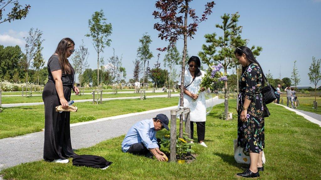 Vijf jaar na MH17, en nog steeds even stil