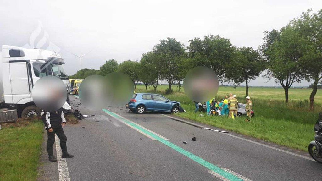 Op de Gooiseweg in Zeewolde gebeuren vaker ongelukken.