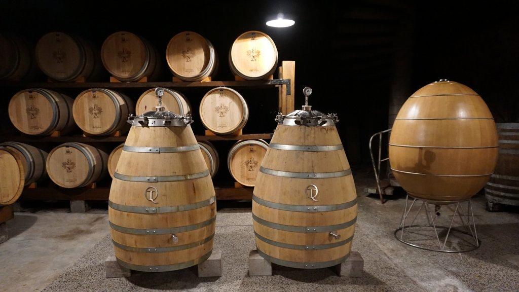 Wijnkelder van Klet Brda