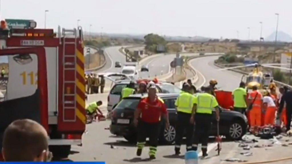 Nederlanders (61 en 22) omgekomen in Spanje