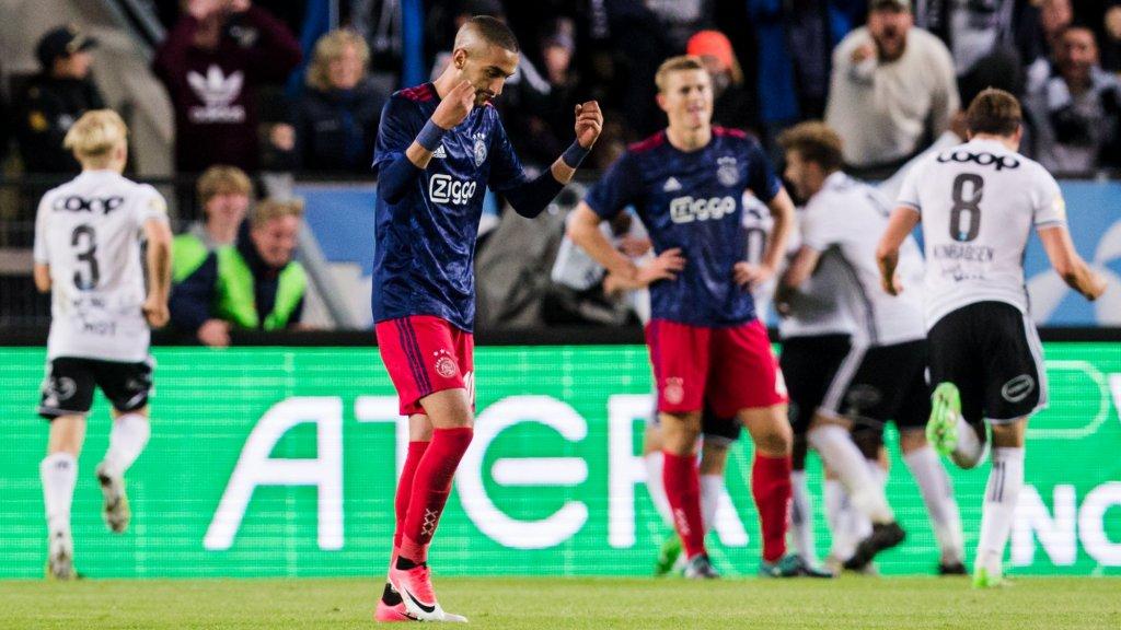Ajax wist tegen Rosenborg voor het eerst sinds 1966 de groepsfase van Europees voetbal niet te bereiken.