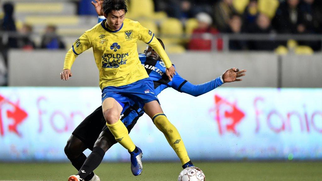 Kamada was trefzeker tegen het Nederlands getinte Club Brugge.