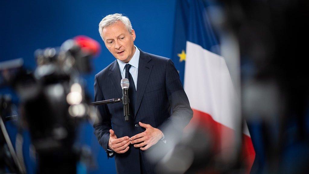 De Franse minister Le Maire bleek alles behalve neutraal bij de selectieprocedure.