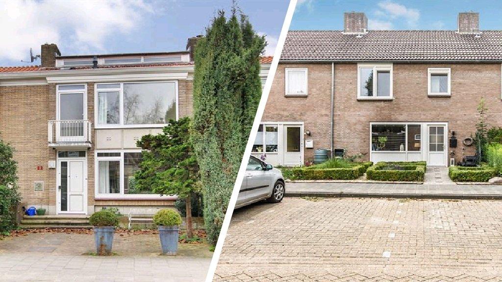 Rijtjeshuis In Amsterdam Versus Drenthe 12 Miljoen Euro
