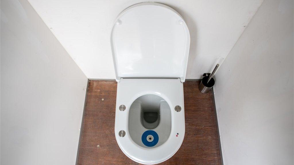 Het Smart Toilet op Lowlands